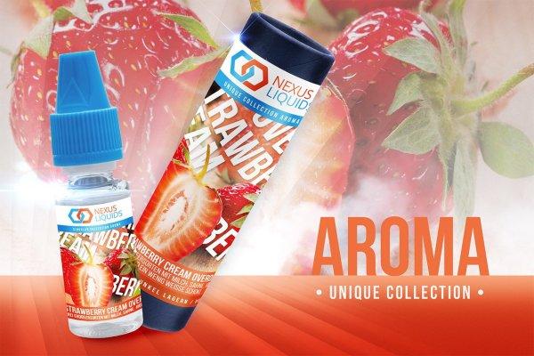 Strawberry Cream Overdose Aroma by Nexus Liquids