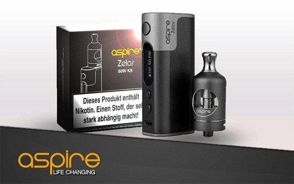 Aspire Zelos Backendampfer Kit 2500 + Nautilus 2 Neu- BigVape Liquids