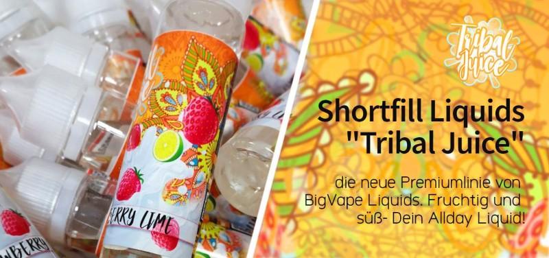 Tribal Juice Shortfill Liquids