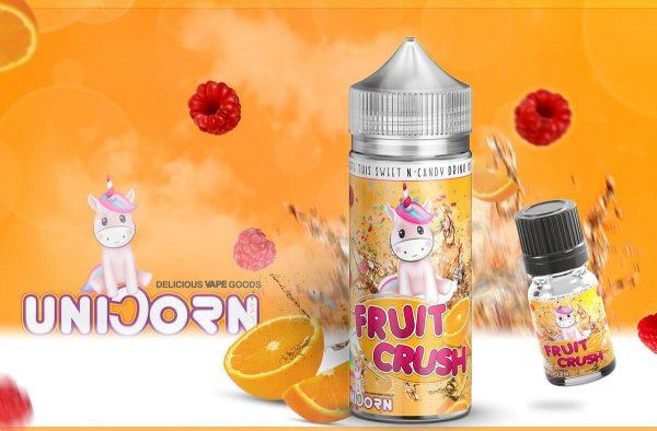 "Unicorn Vape Goods ""Fruit Crush"" Aroma- by BigVape Liquids"