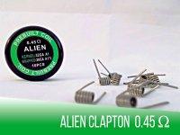 Prebuilt Alien Clapton Coil 0,45 Ohm