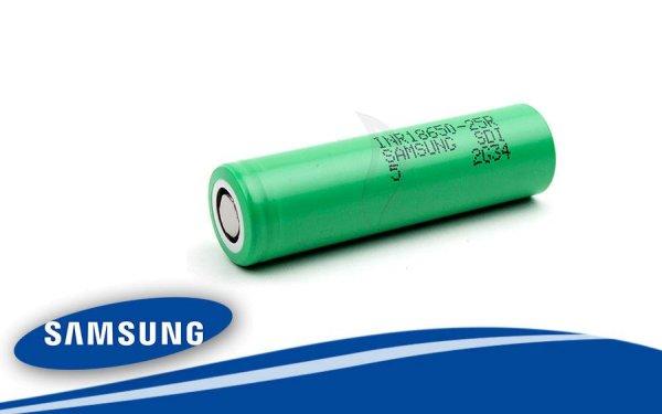 Samsung INR 18650 25R 2500 mAh Li-Ion Akku 3,6 Volt