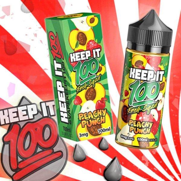 Peachy Punch eLiquid Shake n Vape by Keep it