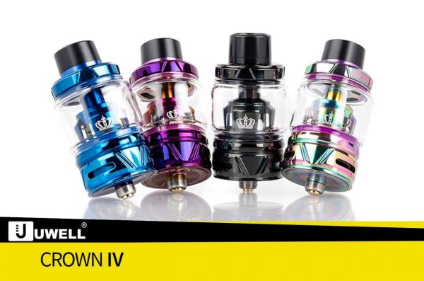 Crown 4 - 6ml Verdampfer/Clearomizer - by UWELL