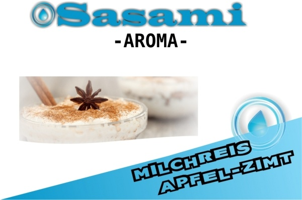 Milchreis Apfel-Zimt Aroma - Sasami (DE)