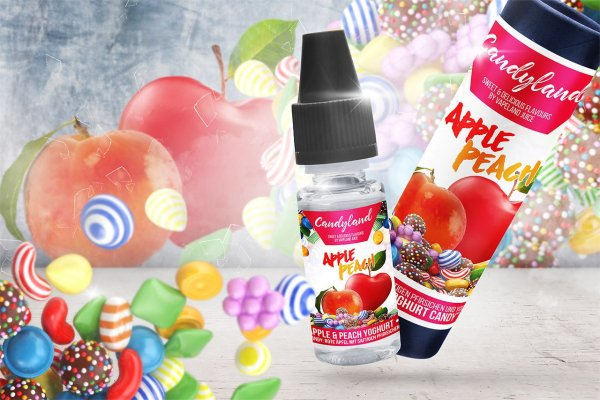 Apple Peach Yoghurt Candy Aroma by Candyland Flavours