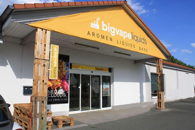 BigVape Liquids Store Hirschaid bei Bamberg