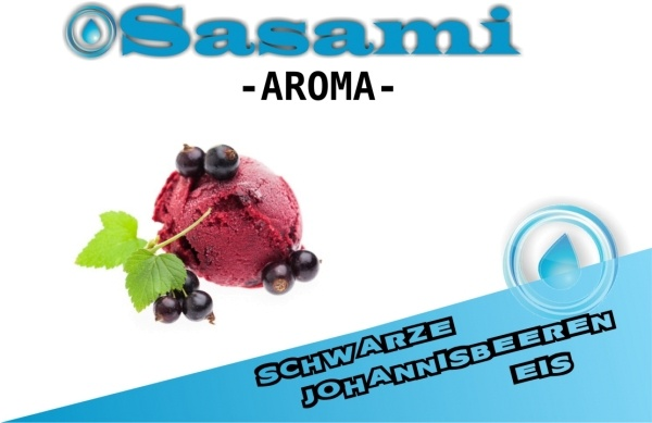 Schwarze Johannisbeeren Eis Aroma - Sasami (DE)
