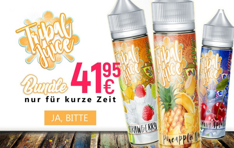 Tribal Juice Set Bundle bei BigVape Liquids