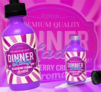 Blackberry Crumble e-Liquid by Dinner Lady 3mg Shake and Vape