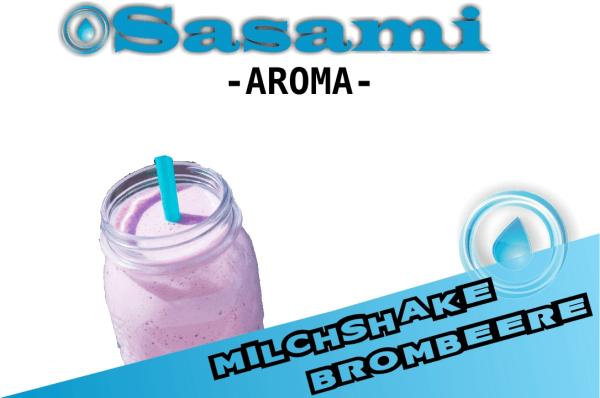 Milchshake Brombeere Aroma - Sasami (DE)
