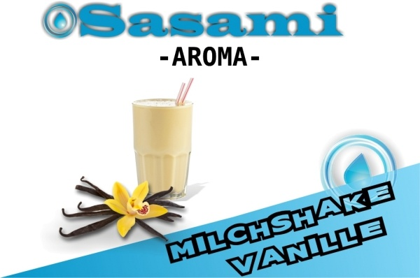 Milchshake Vanille Aroma - Sasami (DE)