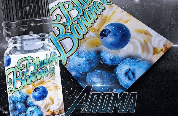 Blueberry Banana Aroma- von BigVape Liquids