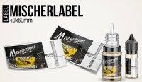 """""""Mischerlabel- BigVape Liquids"""" - High Gloss Etikett für Leerflaschen"""