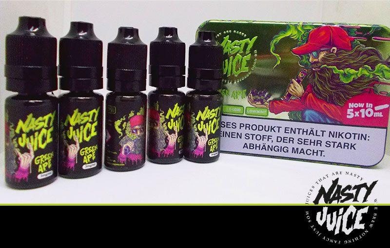 green ape 5x10ml nasty juice g nstig kaufen bei bigvape. Black Bedroom Furniture Sets. Home Design Ideas