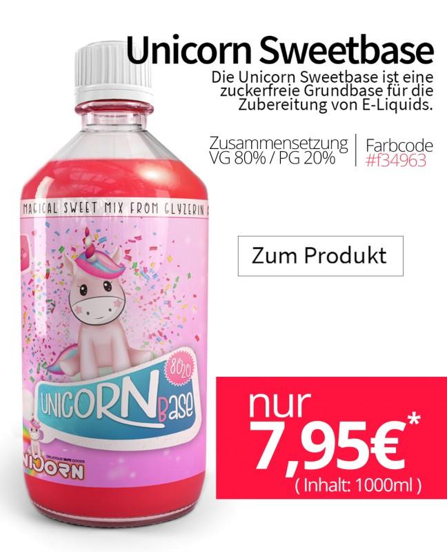 Unicorn SweetBase Sale hier kaufen