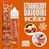 Iced Strawberry Daiquiri Aroma 40ml by Dominate Flavor's