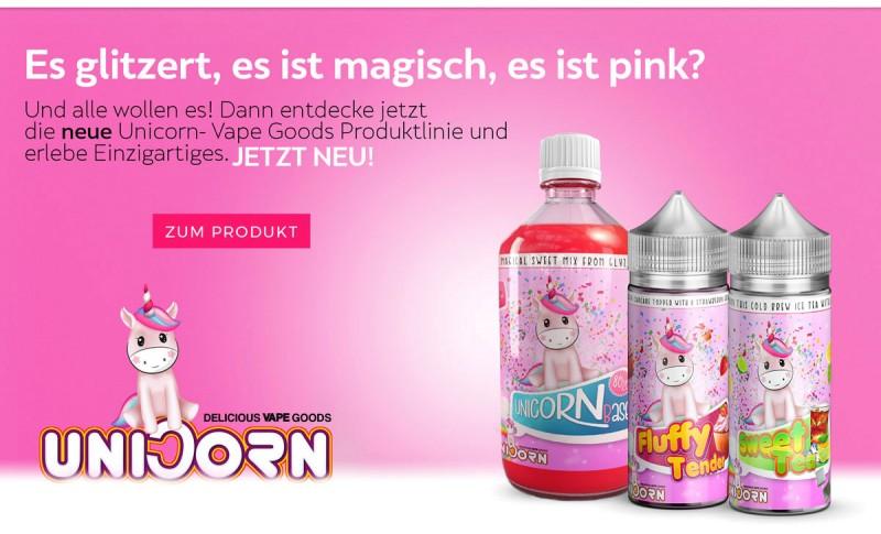 Unicorn Vape Goods Aromen und Base hier kaufen