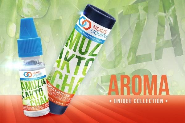 Amuza Kakto Chai Aroma • Codename: GRÜN³ • Lustiger Kaktus Tee by Nexus Liquids