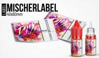 """""""Mischerlabel- D.I.Y"""" - High Gloss Etikett für Leerflaschen"""