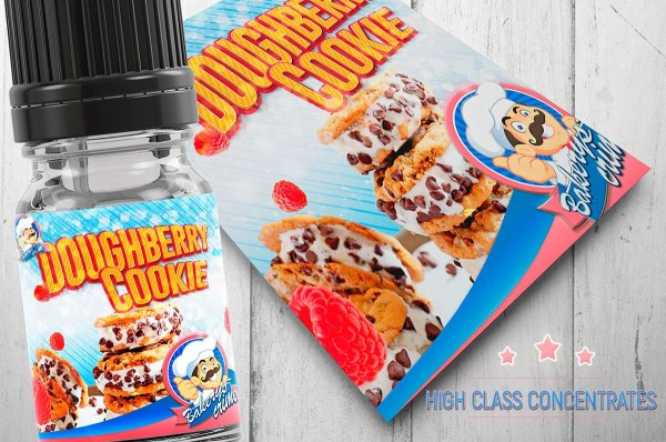 """Doughberry Cookie """"Aroma""""- by Bakerys´ Crime"""