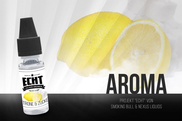 Zitrone & Zucker Aroma by ECHT / Smoking Bull & Nexus Liquids