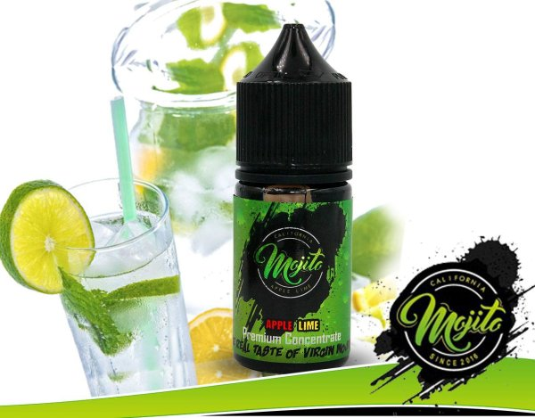 Apple Lime 30ml Aroma- by California Mojito