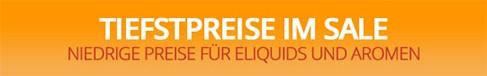 Reduzierte günstige Liquids im Sale bei BigVape Liquids