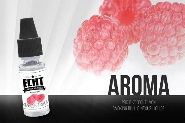 Himbeer Traum Aroma by ECHT / Smoking Bull & Nexus Liquids