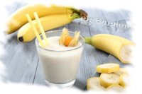 Bananen-Milch Extreme Aroma Dark Burner