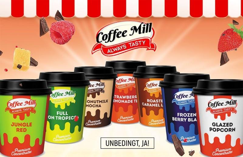 Coffee Mill Aromen Neu hier bestellen