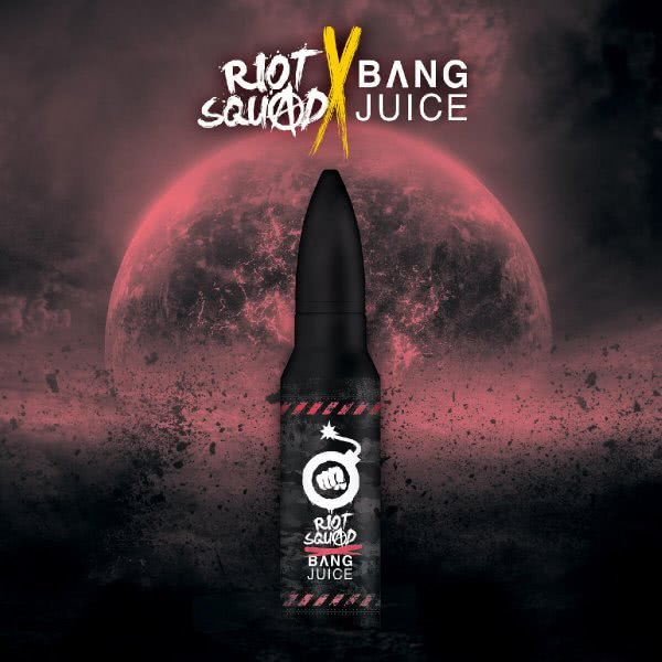 Wild Berry Fusion Ice - Shake & Vape Aroma by Bang Juice X Riot Squad