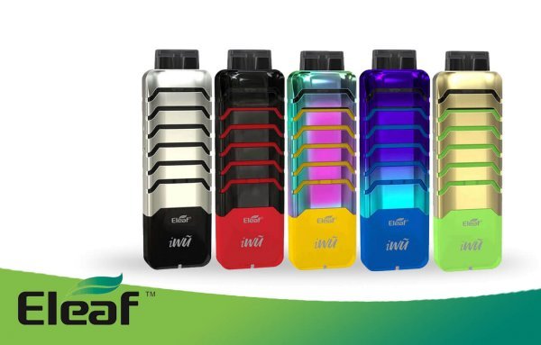 iWu Kit - 2ml - 700mAh - Starterset by Eleaf
