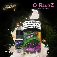 TWELVE MONKEYS - Orangz- 30ML MULTIPACK