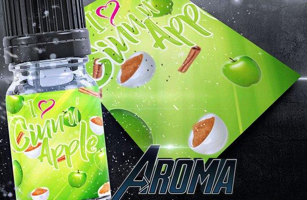 I love Cinn n´ Apple Aroma- von BigVape Liquids
