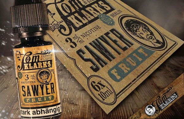 "Tom Sawyer FRUCHT ""eLiquid""- von Tom Klark"