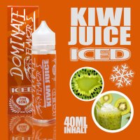 Iced Kiwi Juice Aroma 40ml by Dominate Flavor's