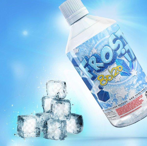 "Frost it ""FreshBase"" VG80/PG20 ohne Nikotin- by BigVape Liquids"
