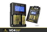 XTAR VC4 Ladegerät für Li-Ion 3,6-3,7 V / Ni-MH Akkus
