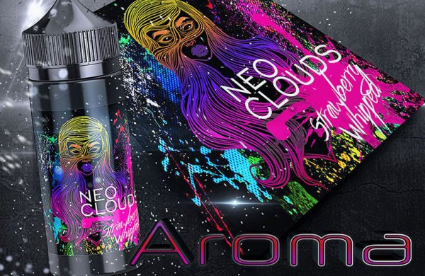 """NEO Clouds """" Strawberry Whipped"""" Aroma- by BigVape Liquids"""