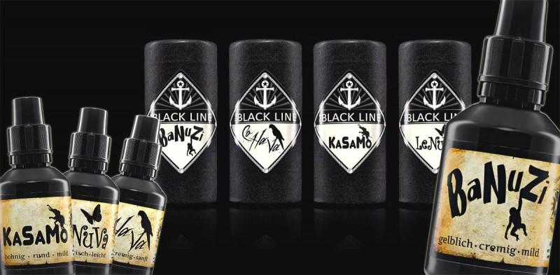 The Blackline Aromen von Stammi Liquids Nürnberg