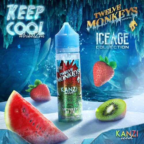 Kanzi Iced Shake n Vape- by Twelve Monkeys