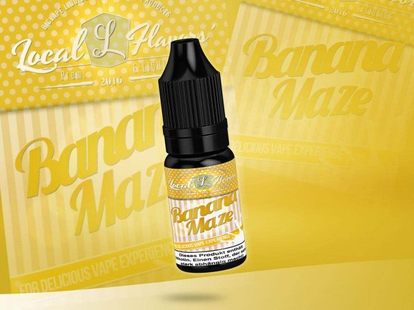 Banana Maze eLiquid- by Local Flavors´