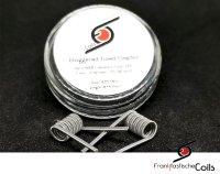 Fused Staggered Clapton NiChr80 Kerne 0,22 Ohm Dual- by Franktastische Coils