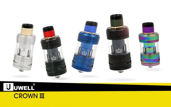 Crown 3- 5ml Verdampfer/Clearomizer - by UWELL